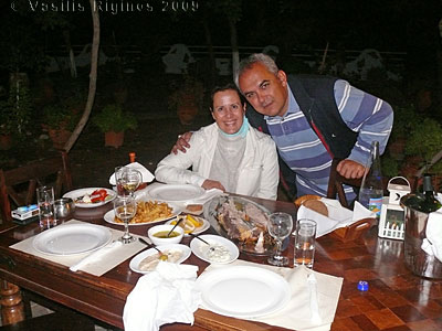 Arzu, Turgut & the devoured fish