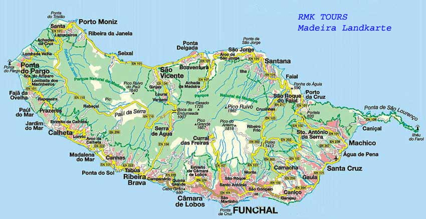 mapa de estradas da madeira Download wallpaper high full HD » map madiera | Full Wallpapers HOME mapa de estradas da madeira